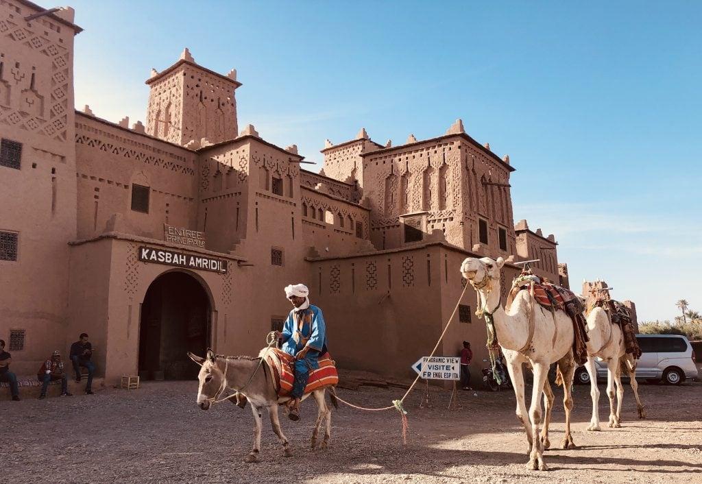 4 days desert trip Marrakech to Merzouga
